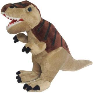 Plyšový Tyrannossurus Rex 48 cm hnědý