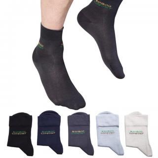 Ponožky s bambusovým vláknem 5 párů vel. 39 - 40