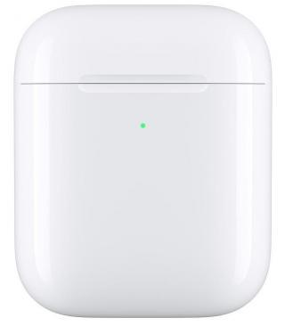 Pouzdro Apple pro AirPods, bezdrátové nabíjení bílé