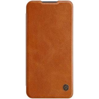 Pouzdro na mobil flipové Nillkin Qin Book na Xiaomi Redmi 9 hnědé
