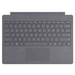 Pouzdro na tablet s klávesnicí Microsoft Surface Pro Signature Type Cover, US layout stříbrné
