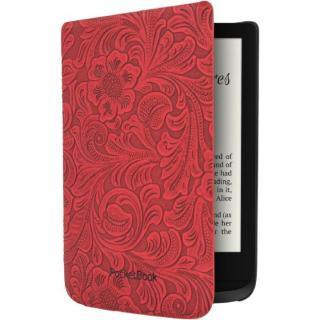 Pouzdro pro čtečku e-knih Pocket Book 616/627/632 - red flowers
