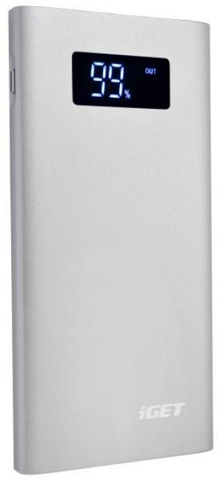 Powerbank iGET Power B7000S 7000mAh stříbrná