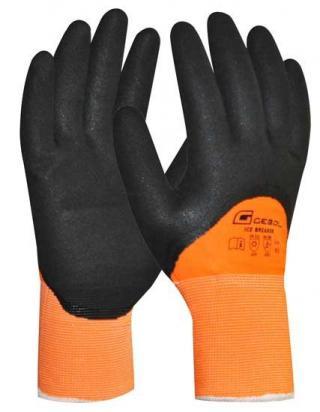 Pracovní rukavice zimní polomáčené Ice Breaker - 10