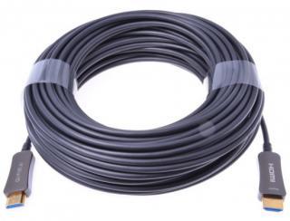 PremiumCord HDMI optický fiber High Speed   Ethernet kabel/ 4K@60Hz/ M/M/ zlacené konektory/ 40m/ černá, kphdm2x40