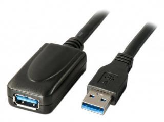PremiumCord ku3rep5 USB 3.0 repeater a prodlužovací A/M-A/F, 5m