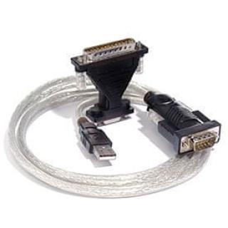 PremiumCord USB 2.0 - RS 232 převodník s kabelem, osazen chipem od firmy FTDI - rozbaleno