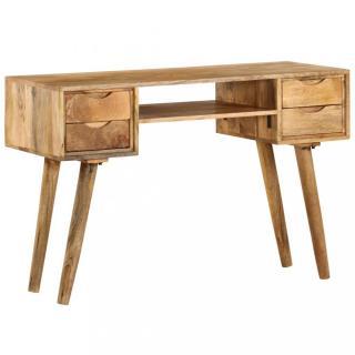 Psací stůl mangovníkové dřevo Dekorhome