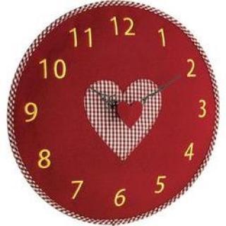 Quartz nástěnné hodiny tfa 60.3025.05, o 330 mm, červená