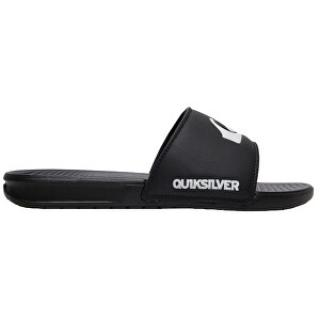 Quiksilver Pánské pantofle Bright Coast Slide Black/White/Black AQYL100956-XKWK 45