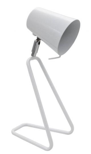 Rabalux 5777 Olaf, stolní lampička, E14 max. 25W, bílá - rozbaleno