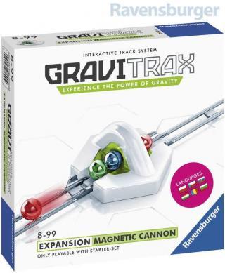 RAVENSBURGER Stavebnice GraviTrax Magnetický kanon rozšíření ke koulodráze