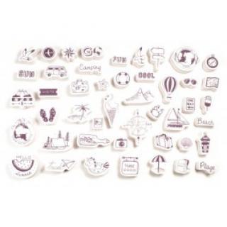 Razítka - Cestování - StampoScrap  6011