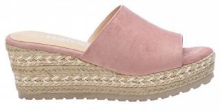 Refresh Dámské pantofle Nude Microfiber Ladies Sandals 72256 Nude - Velikost 40