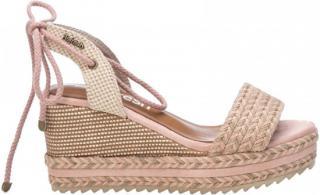 Refresh Dámské sandále Nude Textile Ladies Sandals 69682 Nude - Velikost 36