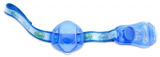 Řetízek na šidítko s krytem - modrá,Řetízek na šidítko s krytem - modrá