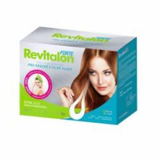 Revitalon Forte 90 kapslí   turban na vlasy