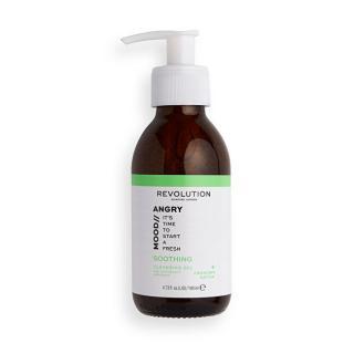 Revolution Pěnivý čisticí gel Skincare Mood Angry  140 ml