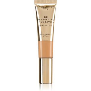 Revolution PRO CC Perfecting hydratační make-up s vyhlazujícím účinkem SPF 30 odstín F5 26 ml