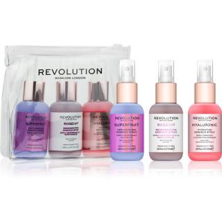 Revolution Skincare Mini Essence Hello Hydration sada pro péči o pleť s hydratačním účinkem 3 ks