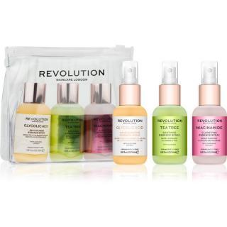 Revolution Skincare Mini Essence So Soothing sada pro péči o pleť