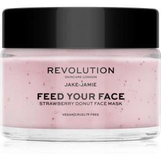Revolution Skincare X Jake-Jamie Strawberry Donut hloubkově hydratační maska s vůní jahod 50 ml