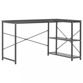 Rohový psací stůl 120x72 cm Dekorhome Černá
