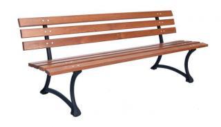 Rojaplast parková lavice - zánovní