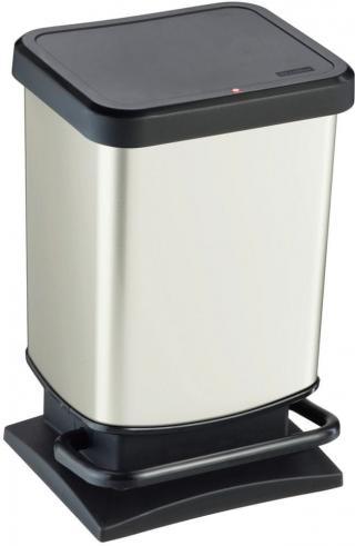 Rotho Odpadkový koš Paso 20 l, bílý - rozbaleno