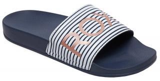 Roxy Dámské pantofle Slippy II Blue Indigo ARJL100679-4BI 41