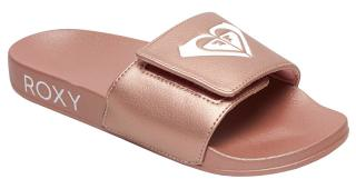 Roxy Dámské pantofle Slippy Slide IV Rose Gold ARJL100856-RSG 40