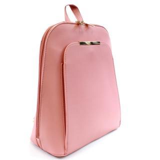 Růžový praktický dámský batoh Gillespie