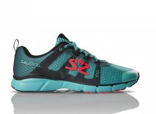 Salming enRoute 2 Shoe Men Green/Black 10 UK - 45 1/3 EUR - 29 cm / Zelená/černá