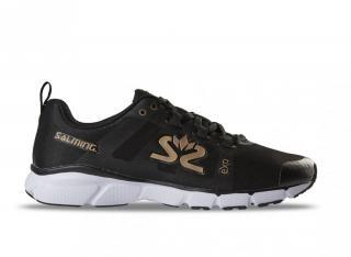 Salming enRoute 2 Shoe Women 7 UK - 40 2/3 EUR - 26 cm / Černá/bílá