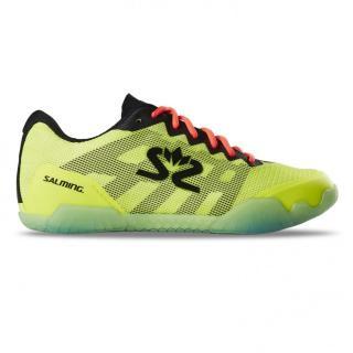 Salming Hawk Shoe Men Neon Yellow 13 UK - 49 1/3 EUR - 32 cm / Žlutá