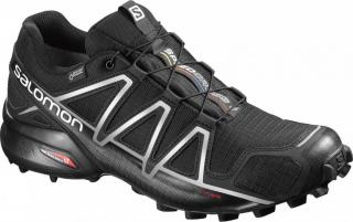 Salomon Speedcross 4 Gtx® Black/Black/Silver Metallic-X 47.3