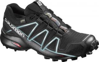 Salomon Speedcross 4 Gtx® W Black/Black/Metallic Bubble Blue 38.7