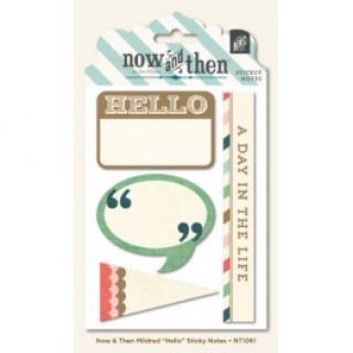 Samolepky - Štítky - Hello Sticky Notes 70pcs  94102