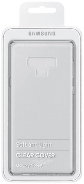Samsung Clear Cover Galaxy S9, čirý EF-QN960TTEGWW - použité