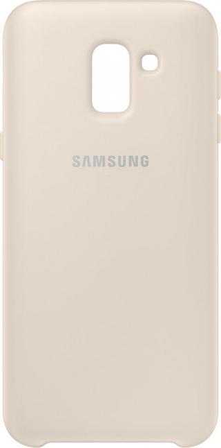 Samsung dvouvrstvý ochranný kryt pro Samsung Galaxy J6, zlatá EF-PJ600CFEGWW - rozbaleno