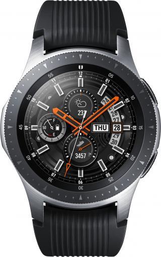 SAMSUNG Galaxy Watch 46mm SM-R800 Silver Armband Black