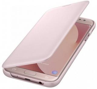 Samsung Wallet Cover J7 2017, pink EF-WJ730CPEGWW