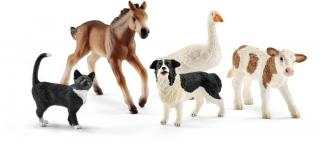 Schleich Farmářská zvířata set 5ks 42386 - rozbaleno