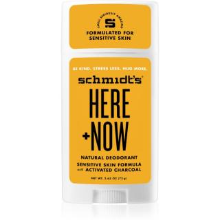 Schmidts Here   Now tuhý deodorant 58 ml