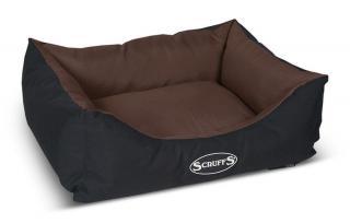 Scruffs Expedition Box Bed čokoládový vel. M - rozbaleno