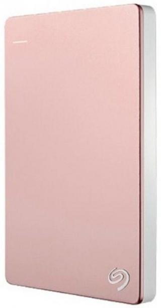 Seagate Backup Plus Slim - 2TB, růžová  - rozbaleno