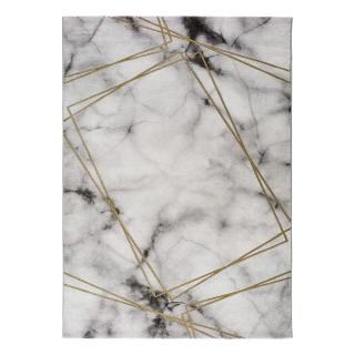 Šedo-bílý koberec Universal Artist Marble, 60 x 120 cm