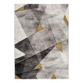 Šedo-žlutý koberec Bianca Grey, 60 x 120 cm