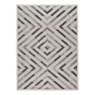Šedý koberec Universal Dream Geo, 140 x 200 cm