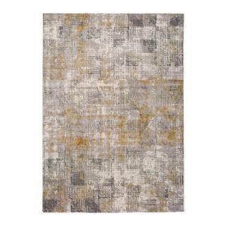Šedý koberec Universal Kerati Mustard, 80 x 150 cm